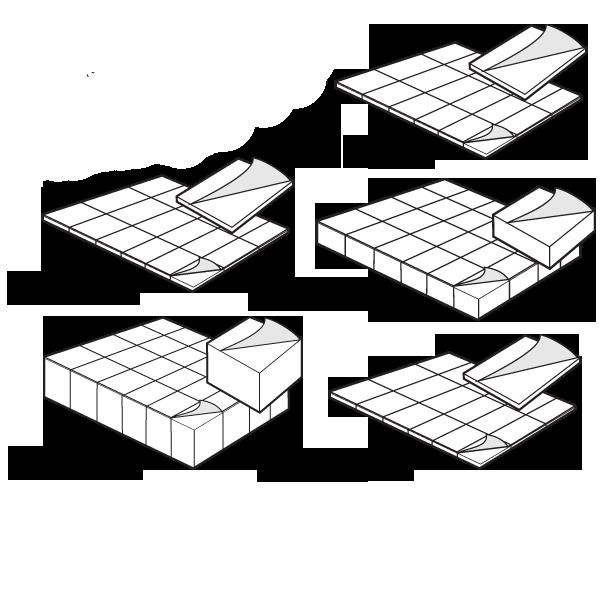 2312 Foam Adhesive Pads 1 Quot X 1 2 Quot
