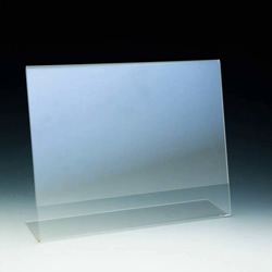 ahs a 11x8 5 11x8 5 slant back table tent sign holder. Black Bedroom Furniture Sets. Home Design Ideas