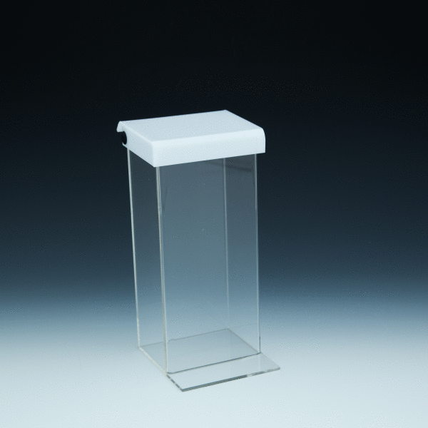Obh Trifold Clear Outdoor Brochure Holder For 4x9 Literature